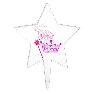 Princess Star Cake Topper