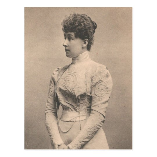 Princess Stephanie of Belgium #063H Postcard
