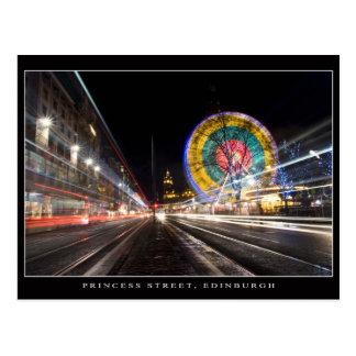 Princess Street, Edinburgh Postcard
