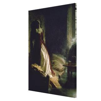 Princess Tarakanova, 1864 Gallery Wrap Canvas