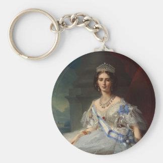 Princess Tatiana Alexandrovna Yusupova, 1858 Basic Round Button Keychain