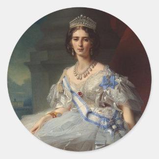 Princess Tatiana Alexandrovna Yusupova, 1858 Classic Round Sticker
