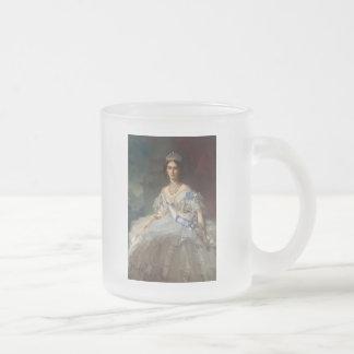 Princess Tatiana Alexandrovna Yusupova, 1858 Frosted Glass Coffee Mug