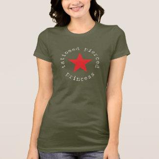 Princess - Tattooed Pierced  (Dark apperal) T-Shirt