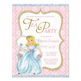 Princess Tea Party Card