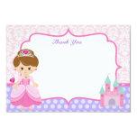 "Princess Thank You Cards 3.5"" X 5"" Invitation Card"
