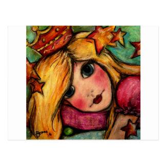 Princess & The Pea Postcard