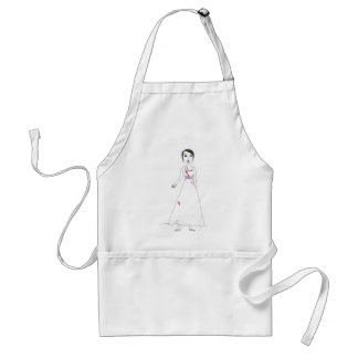 Princess the Zombie the second Adult Apron
