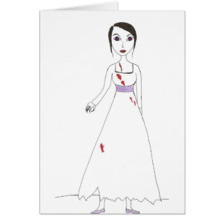Princess the Zombie the second Greeting Card