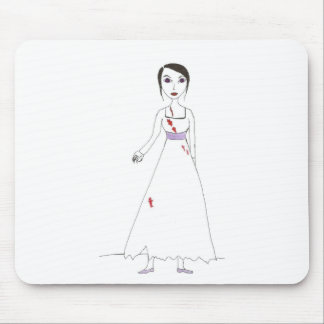 Princess the Zombie the second Mouse Pad
