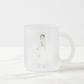 Princess the Zombie the second 10 Oz Frosted Glass Coffee Mug