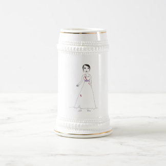 Princess the Zombie the second 18 Oz Beer Stein