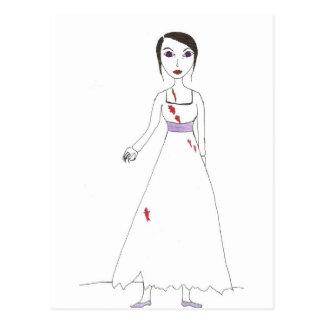 Princess the Zombie the second Postcard