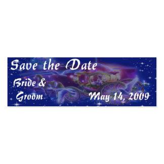 PRINCESS Theme Save the Date Skinny Cards