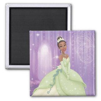 Princess Tiana 2 Inch Square Magnet