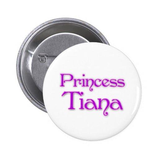 Princess Tiana Button