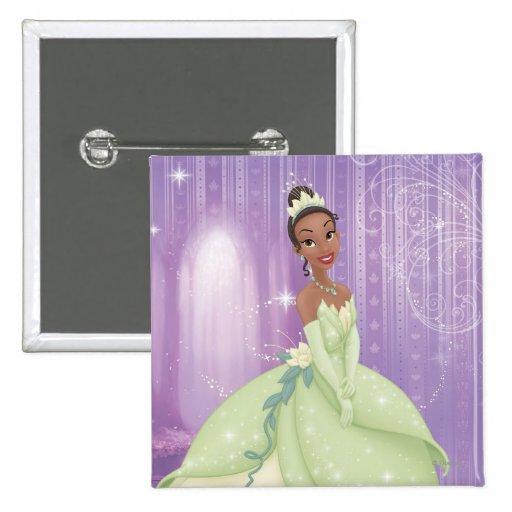 Princess Tiana Pinback Button
