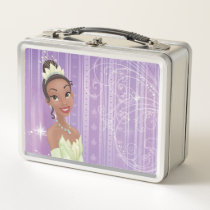 Princess Tiana Metal Lunch Box