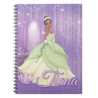 Princess Tiana Spiral Notebook