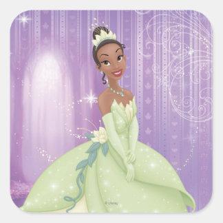 Princess Tiana Square Sticker