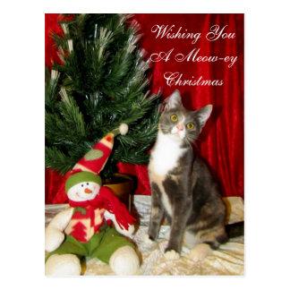 Princess Tiana's Christmas Postcard ( Cat Kitten )