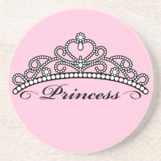 Princess Tiara Coaster (pink background)