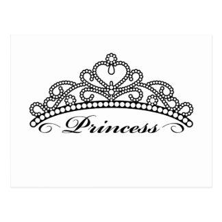 Princess Tiara Postcard