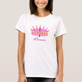 Princess Tiara Tee Shirt