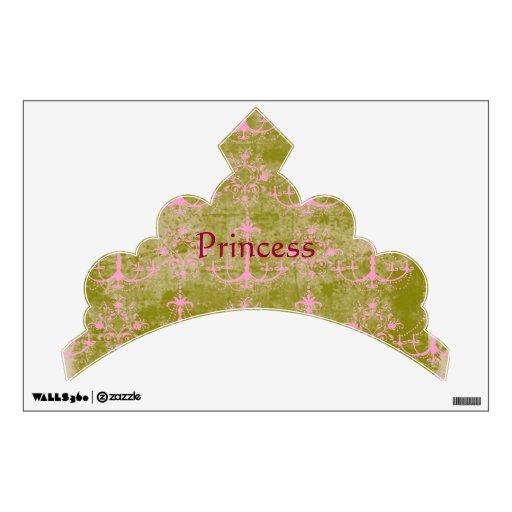 Princess Tiara Wall Decal