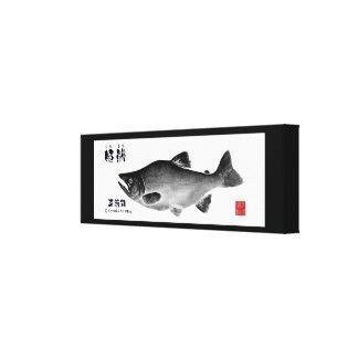 Princess trout! Shikotsu lake! 100 year retention  Gallery Wrapped Canvas