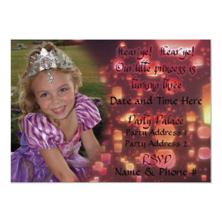 Princess Turning 3 Invitations for Birthday
