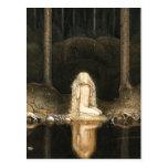 Princess Tuvstarr gazing at her reflection Postcards
