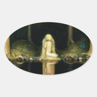 Princess Tuvstarr Oval Sticker