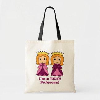 Princess Twins Canvas Bag