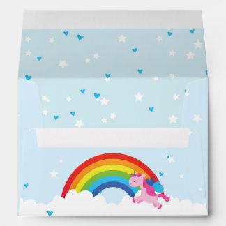 Princess Unicorn Envelope