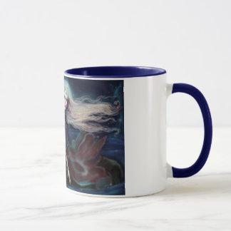 Princess Vampira's Blue 11oz Ringer Coffee Mug
