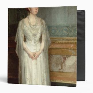 Princess Victoria Eugenie Queen of Spain Vinyl Binder