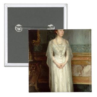 Princess Victoria Eugenie, Queen of Spain 2 Inch Square Button