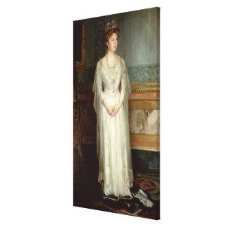 Princess Victoria Eugenie Queen of Spain Gallery Wrap Canvas