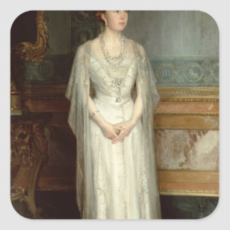 Princess Victoria Eugenie Queen of Spain Square Sticker