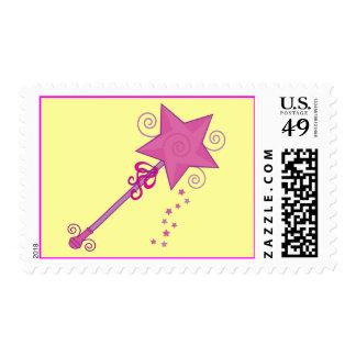 Princess Wand With Stars Stamp