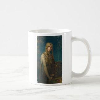 Princess Wearing a Crown Coffee Mug
