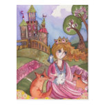Princess Who loved Animals Postcard
