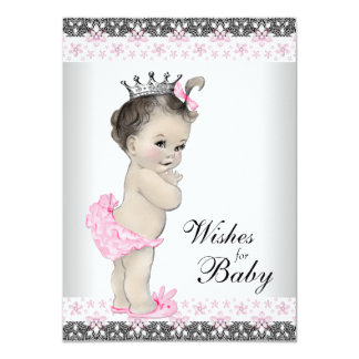 Princess Wishes for Baby Card Baby Shower