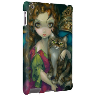Princess with a Maine Coon Cat iPad Case