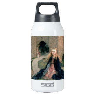 Princess with a Spindle 10 Oz Insulated SIGG Thermos Water Bottle