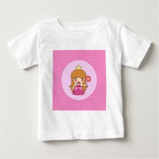 Princess with Hearts Baby T-Shirt