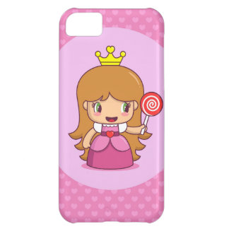 Princess with Hearts iPhone 5C Case