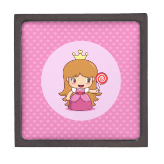 Princess with Hearts Premium Jewelry Boxes