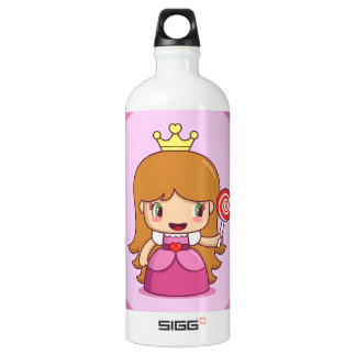 Princess with Hearts SIGG Traveler 1.0L Water Bottle